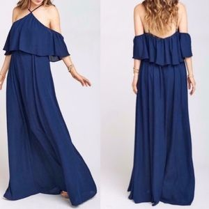 Navy blue SMYM dress!